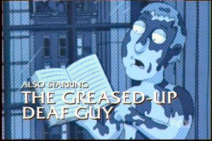 greased up naked deaf guy