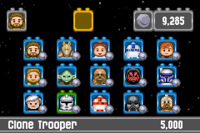 Lego Star Wars GBA - characters