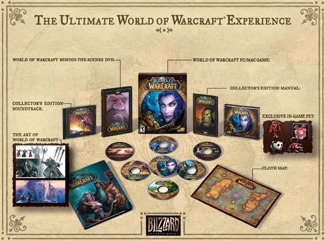 World of Warcraft collector's edition (With images