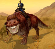 Dewback mount