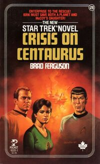 Crisis on centaurus cover
