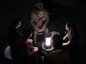 Neelix tells a ghost story