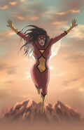 Spider-Woman Origin Vol 1 1 Textless
