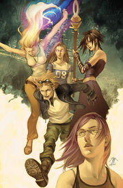 Runaways Vol 2 1 Textless