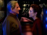 Odo and kira argue