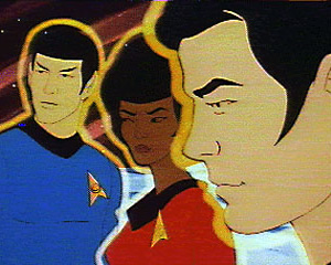 Spock, Uhura and Sulu