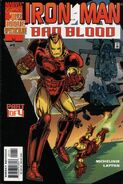 Iron Man Bad Blood Vol 1 1