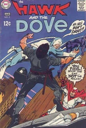 Cover for Hawk and Dove #3