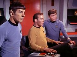 Kirk Spock McCoy bridge 2267