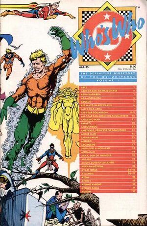 Cover for Who's Who: The Definitive Directory of the DC Universe #1