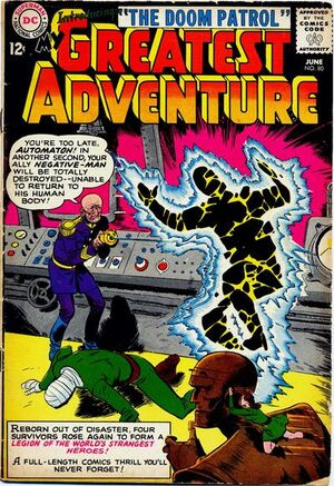 Cover for My Greatest Adventure #80