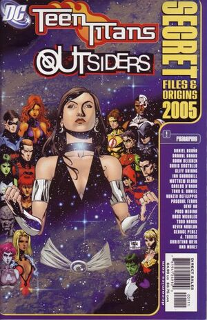 Cover for Teen Titans/Outsiders Secret Files and Origins #2