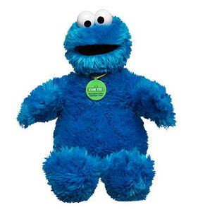 Sesame Street plush (Build-A-Bear)