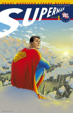 Cover for All-Star Superman #1