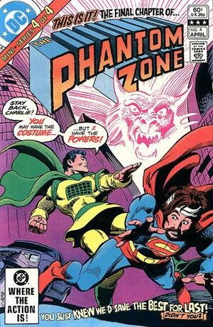 Cover for Phantom Zone #4