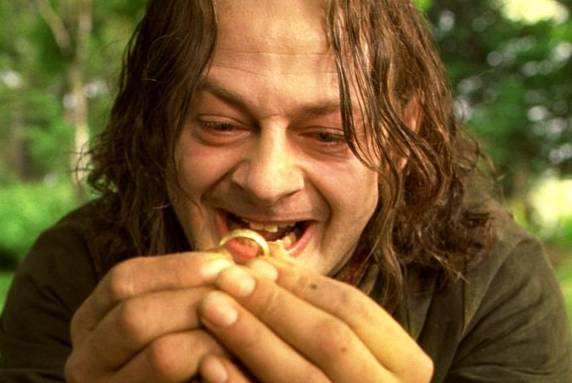 LORD OF THE RINGS WIKI GOLLUM