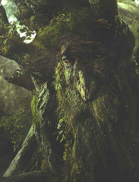 Treebeard - not a tree but very behavior-rich  - an ent, a shepherd of trees, from Lord of the Rings - hosted on One Wiki to Rule Them All