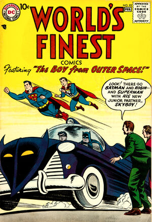 Cover for World's Finest #92