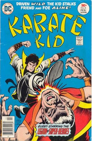 Cover for Karate Kid #6
