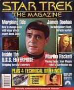 Star Trek The Magazine volume 1 issue 11 cover