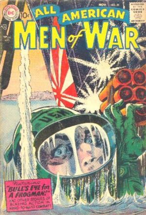 Cover for All-American Men of War #51