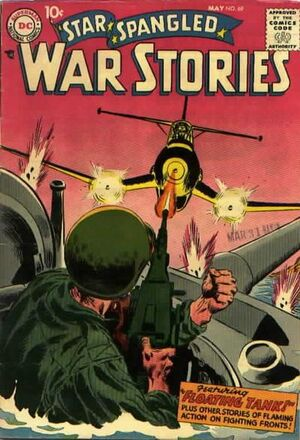 Cover for Star-Spangled War Stories #69