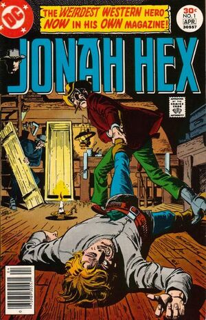 Cover for Jonah Hex #1