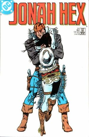 Cover for Jonah Hex #91