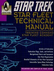 Star Trek Star Fleet Technical Manual 30th Anniversary