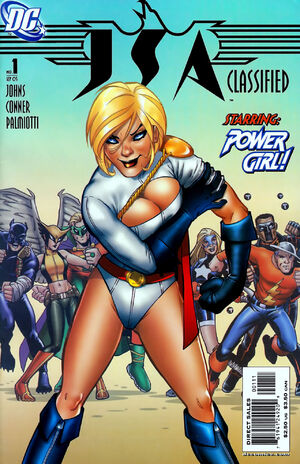 Cover for JSA Classified #1