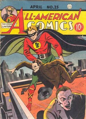 Cover for All-American Comics #25
