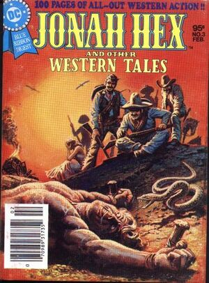 Cover for Jonah Hex and Other Western Tales #3