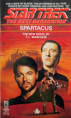 Spartacus cover