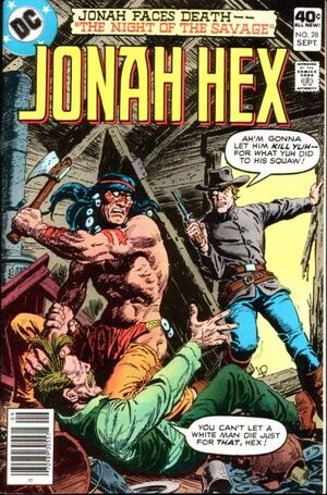 Cover for Jonah Hex #28
