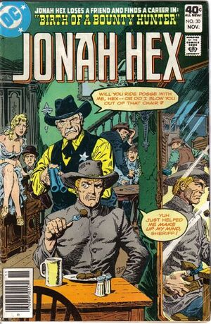Cover for Jonah Hex #30