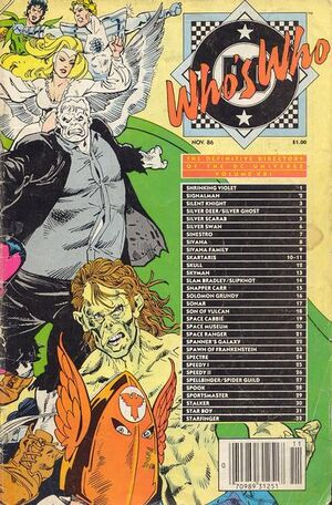 Cover for Who's Who: The Definitive Directory of the DC Universe #21