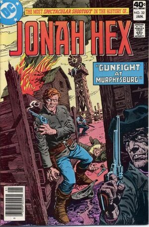 Cover for Jonah Hex #32