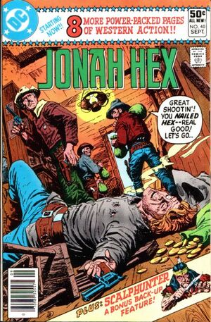 Cover for Jonah Hex #40