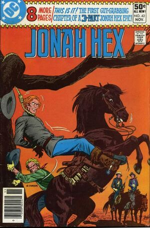 Cover for Jonah Hex #42