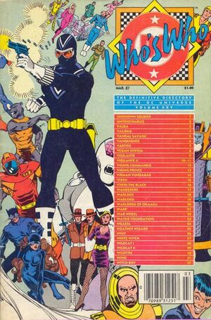 Cover for Who&#39;s Who: The Definitive Directory of the DC Universe #25