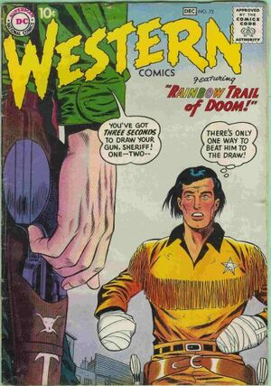 Cover for Western Comics #72