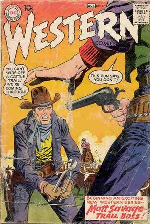 Cover for Western Comics #77