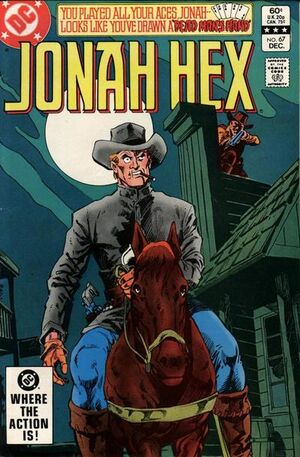 Cover for Jonah Hex #67