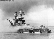 USS Nevada-Pearl Harbor