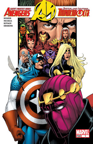 Avengers Thunderbolts Vol 1 1