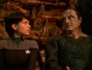 Ezri and Garak