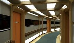 Galaxy class corridor