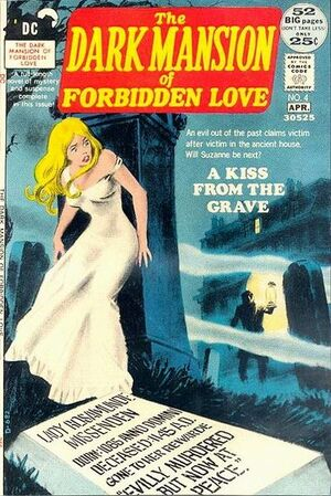 Cover for Dark Mansion of Forbidden Love #4