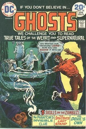 Cover for Ghosts #25