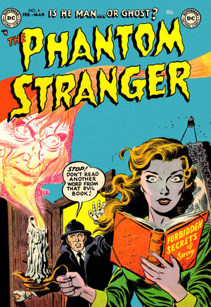 Cover for Phantom Stranger #4